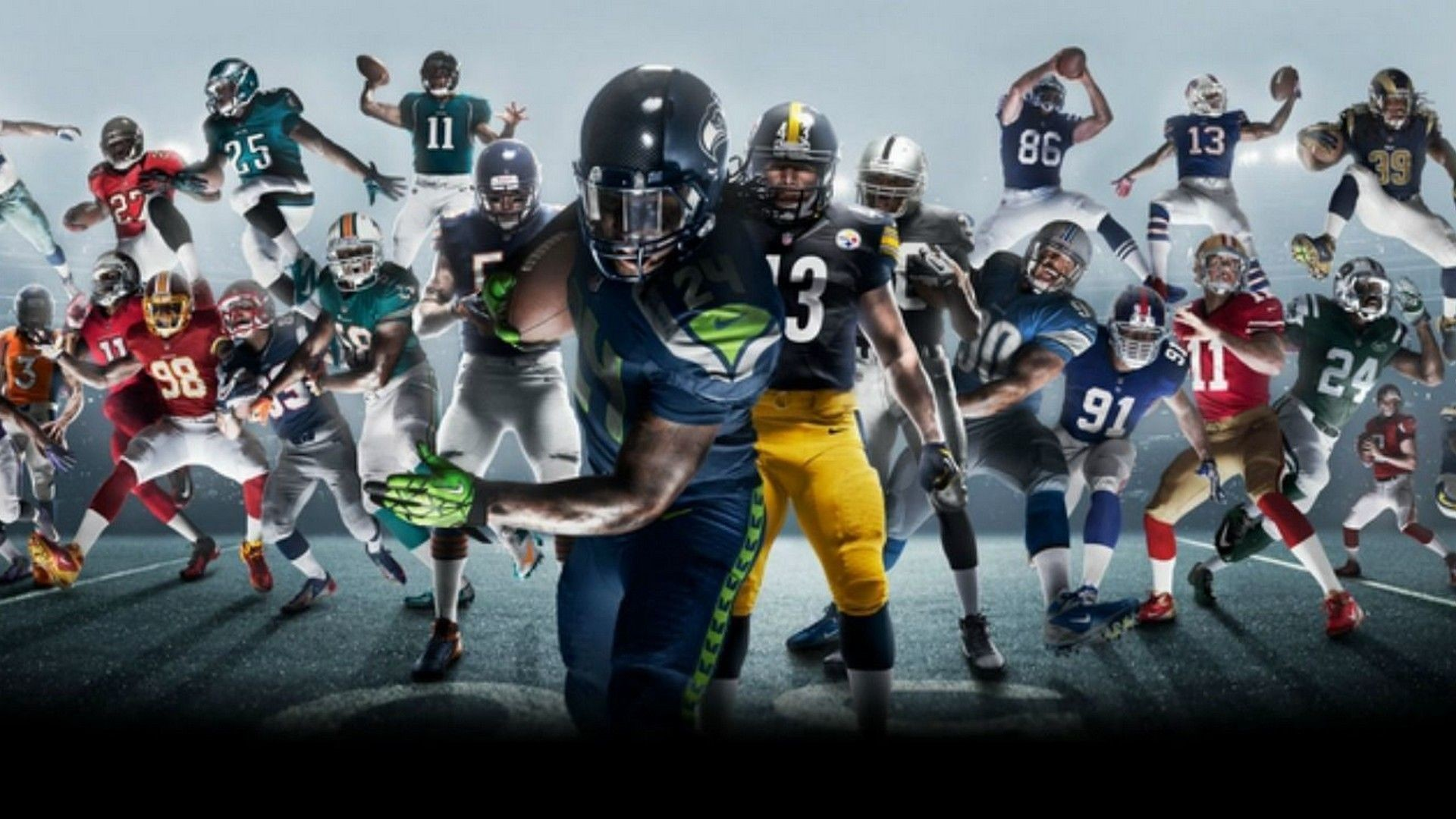 1920x1080 Wallpapers Cool NFL | Best NFL Wallpapers