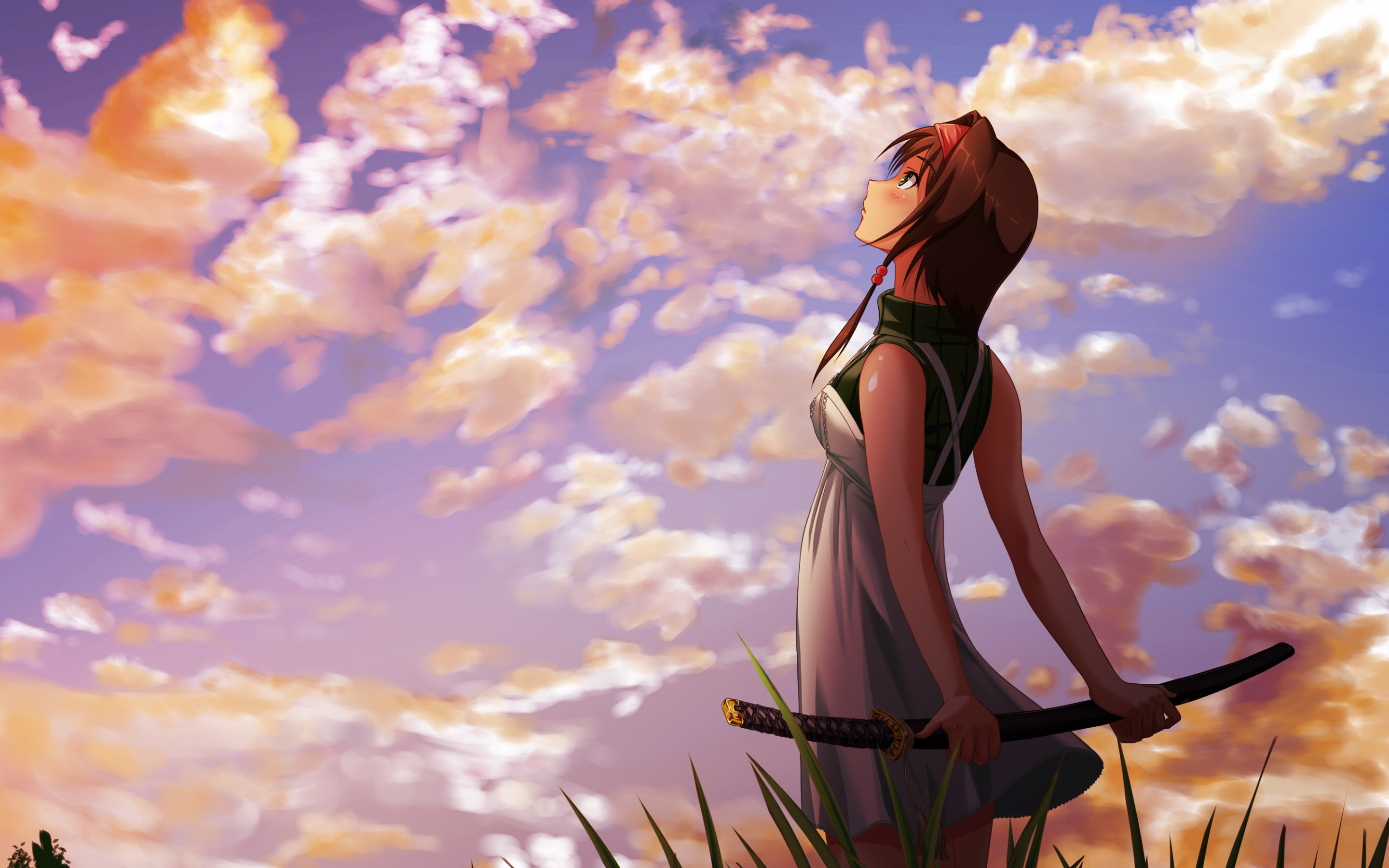 Anime girl wallpapers 83 background pictures - Anime girl full hd ...