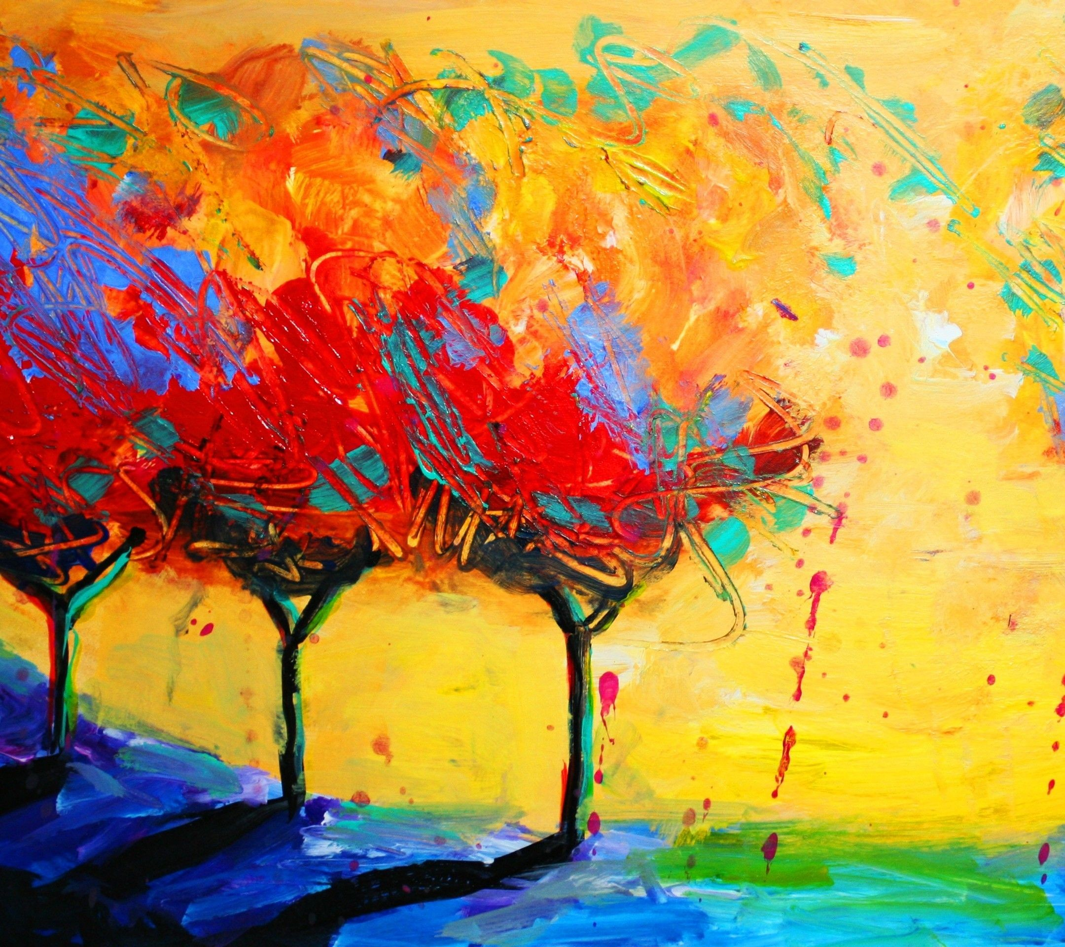 Abstract Painting Wallpapers (74+ Background Pictures