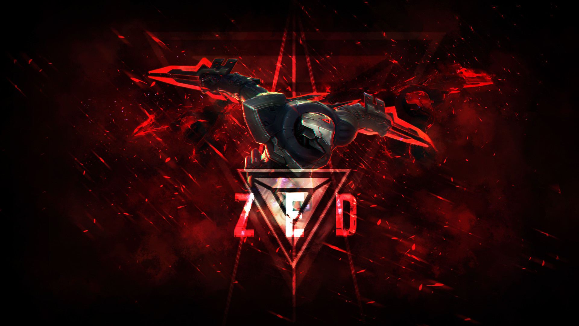 Yasuo Vs Zed Hd Wallpaper X Id