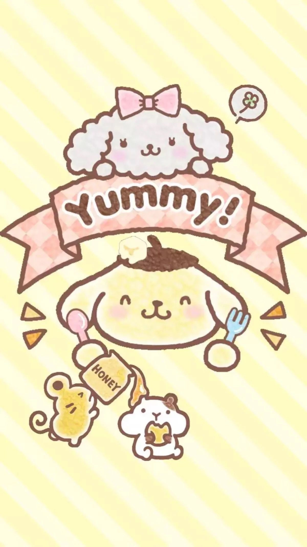 Sanrio Pom Pom Purin And Macaron Wallpapers 58 Background