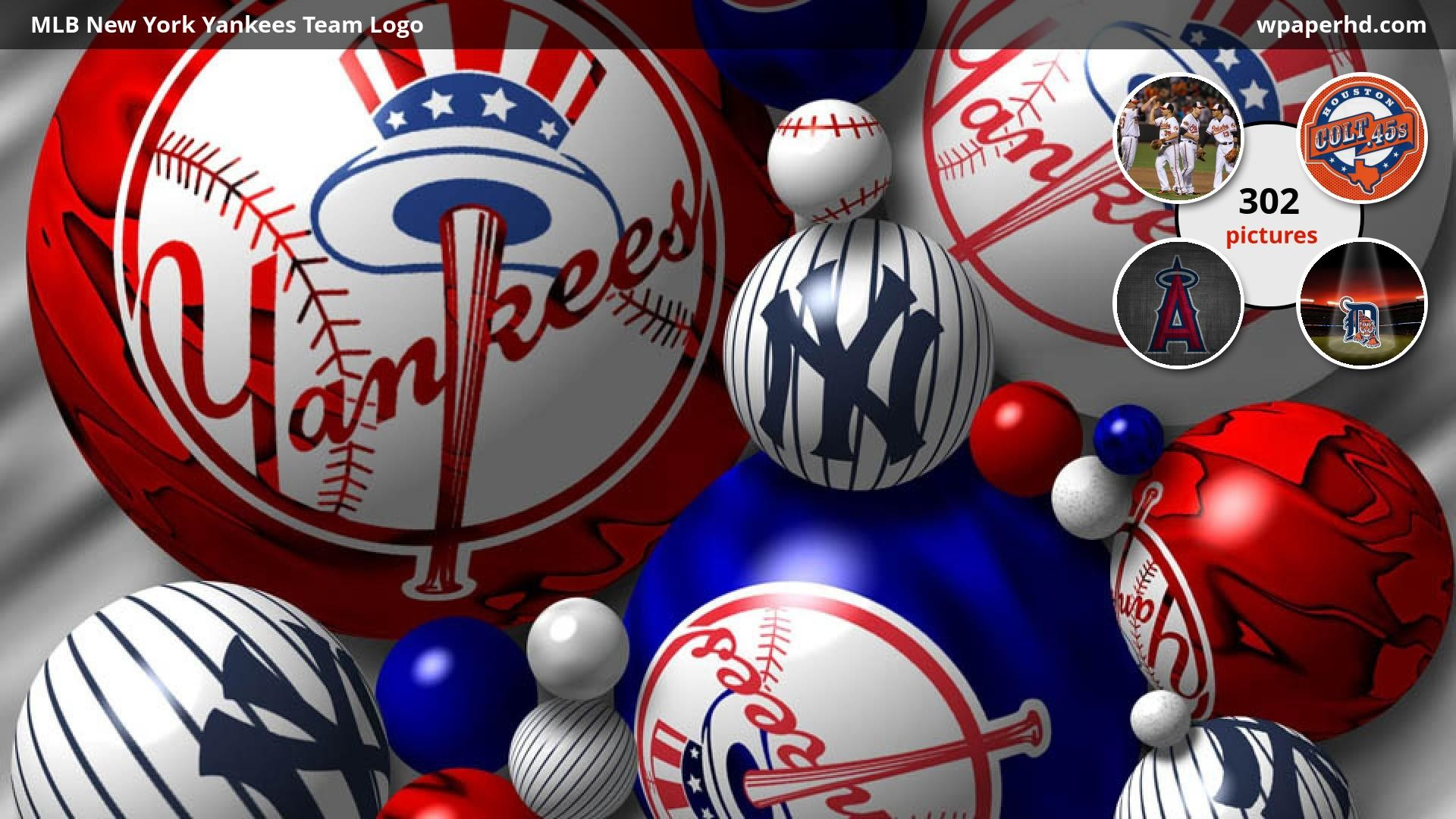 New York Yankees Logo Wallpapers (67+ background pictures)