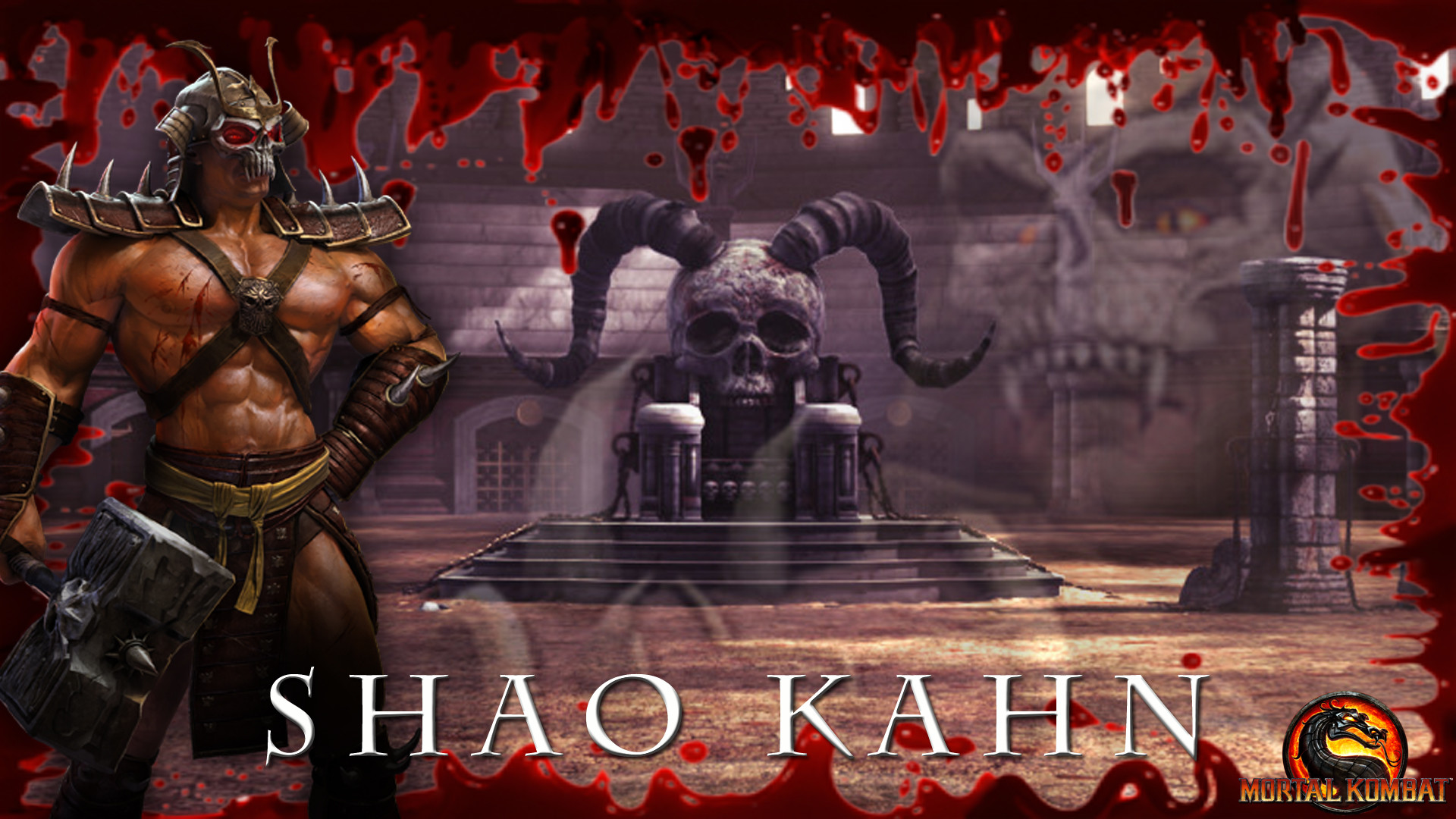 Mortal Kombat Shao Kahn Wallpapers 75 Background Pictures