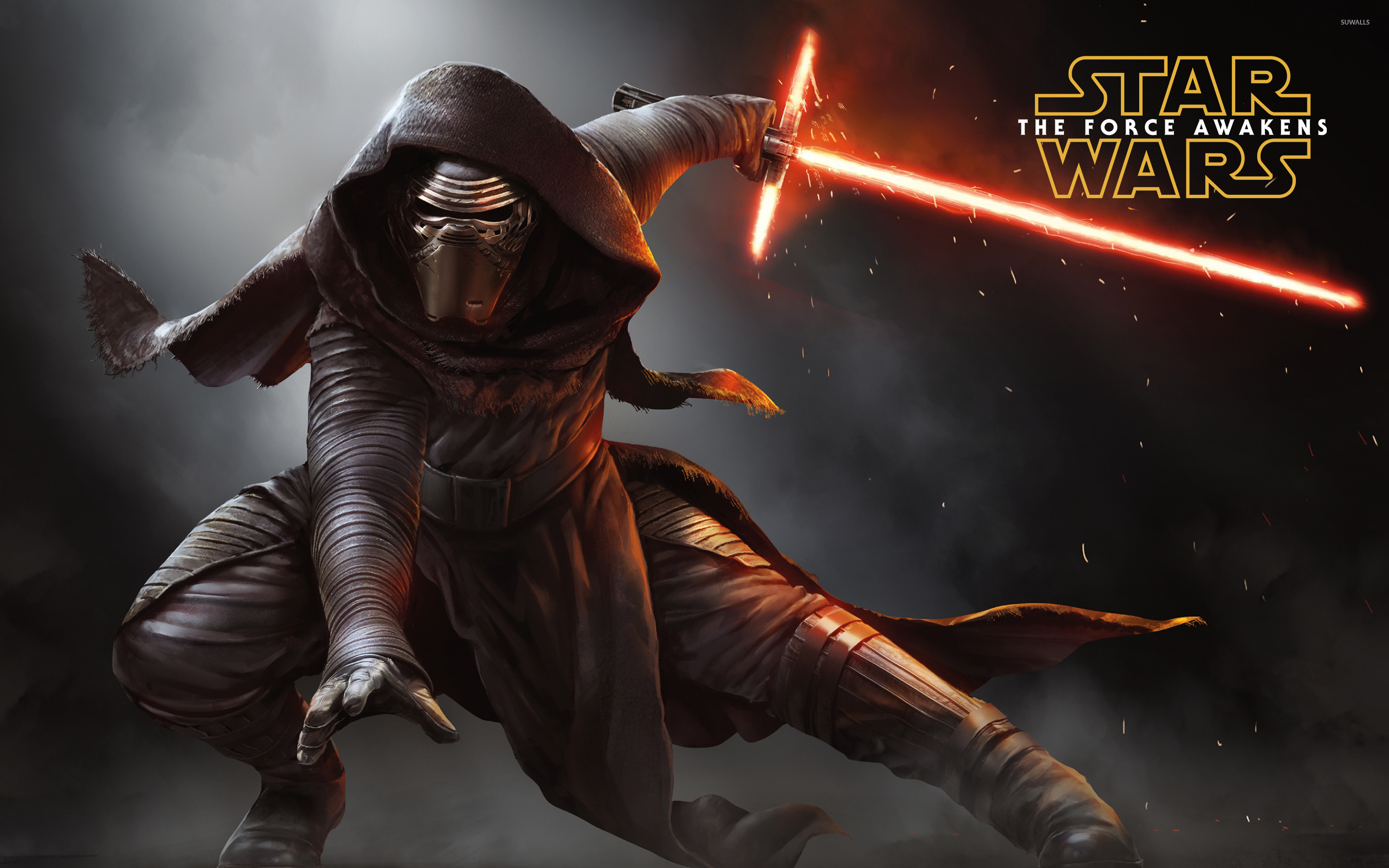 Kylo Ren The Force Awakens Wallpapers: Star Wars Lightsaber Duel Wallpapers (70+ Background Pictures