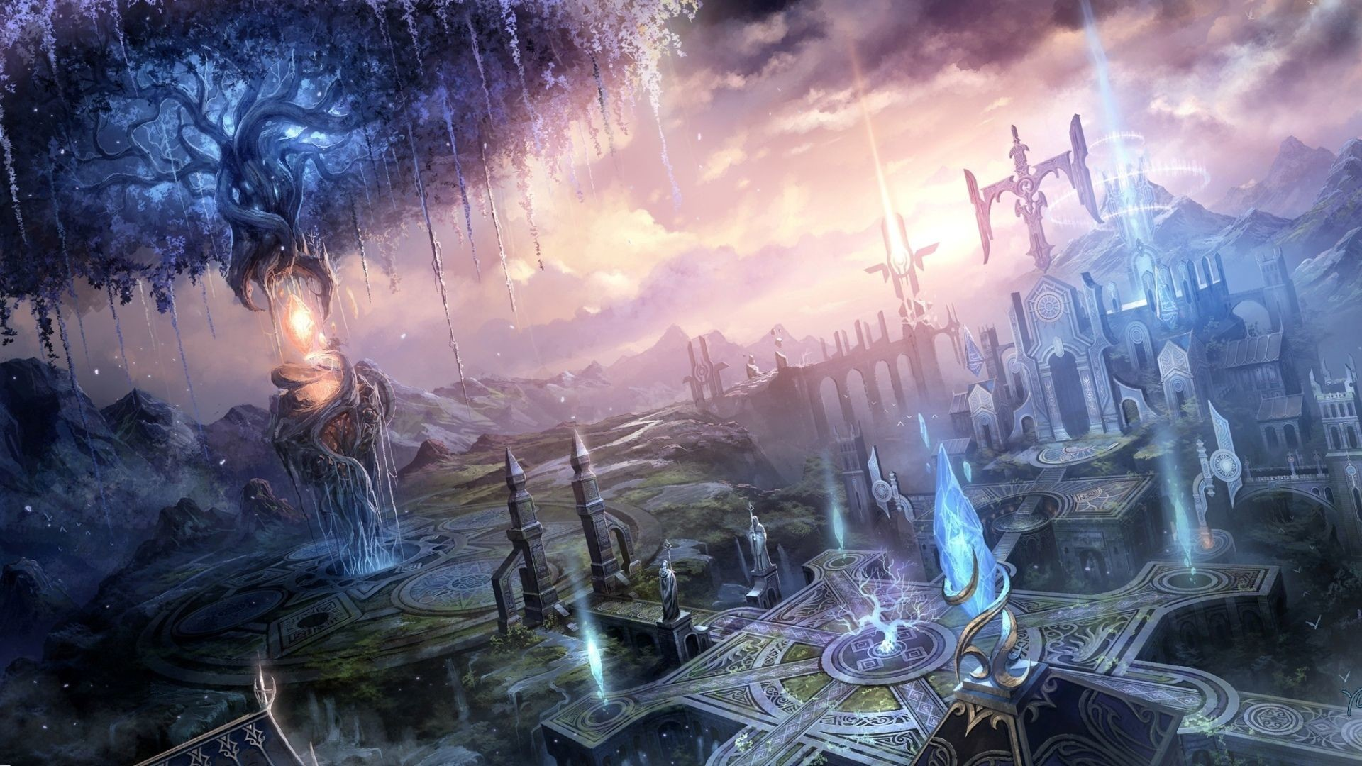 Fantasy Landscape Wallpapers 1920x1080 84 Background Pictures
