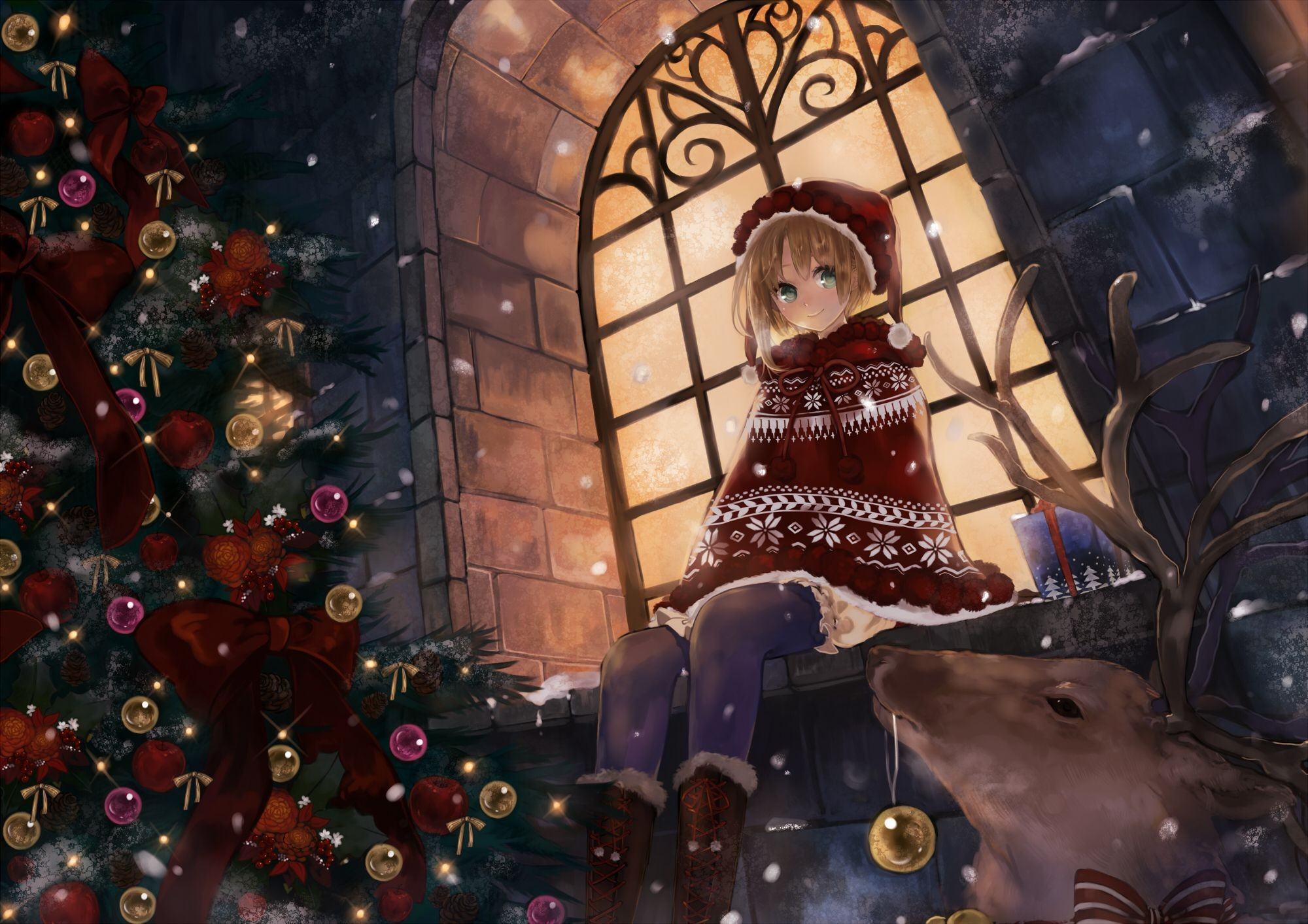 Anime Christmas Wallpapers 75 Background Pictures