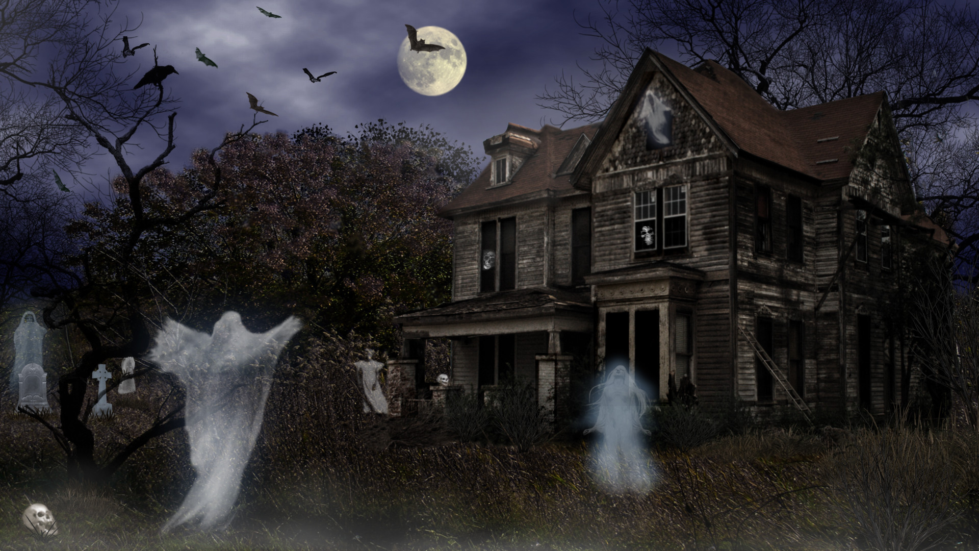 Scary Halloween Wallpapers 70 Background Pictures