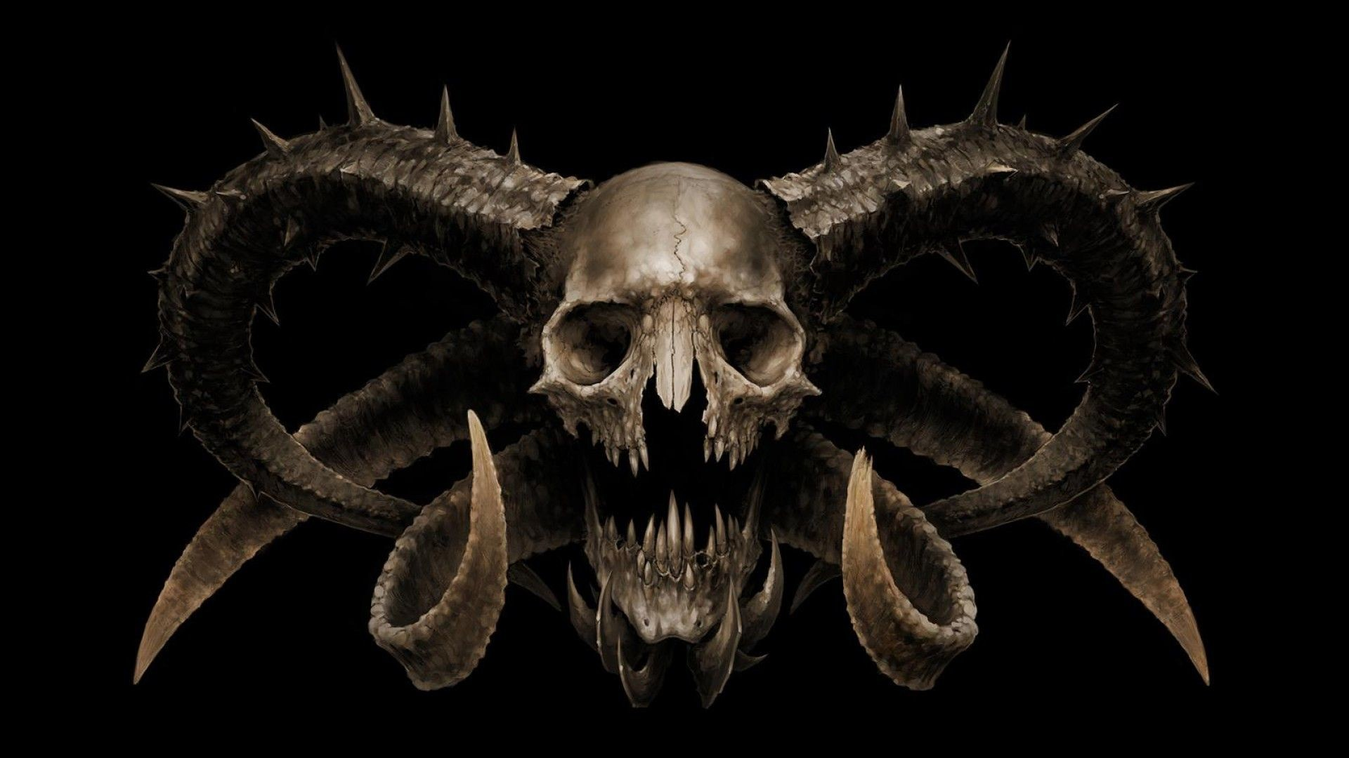 Skull Wallpapers 3D (61+ background pictures)