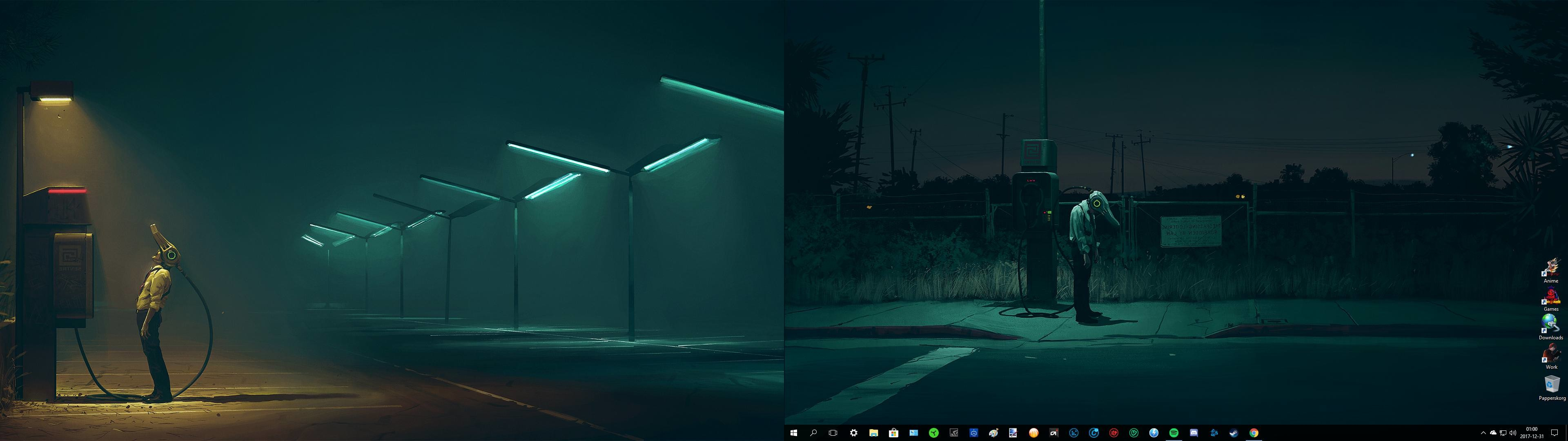 Windows 10 Dual Monitor Wallpapers 53 Background Pictures