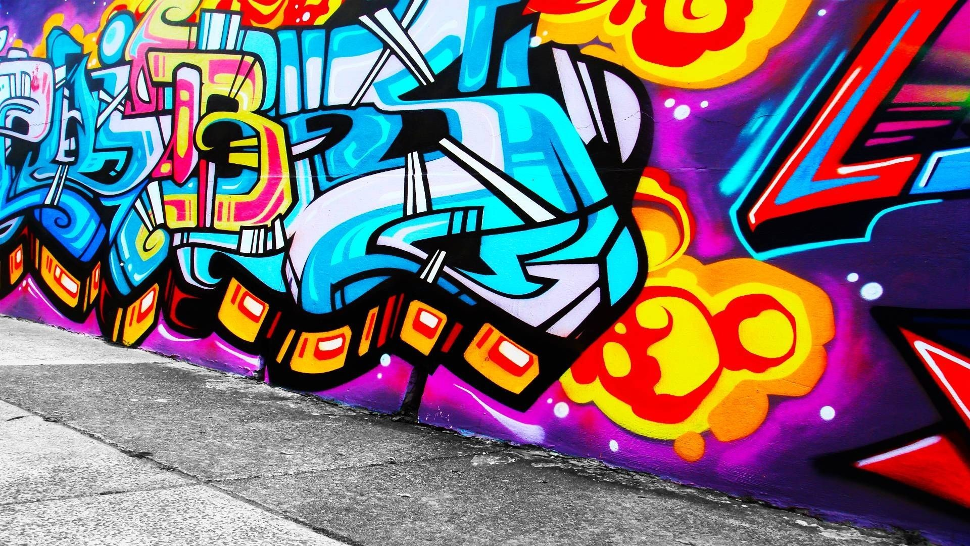 Hd Graffiti Wallpapers 86 Background Pictures