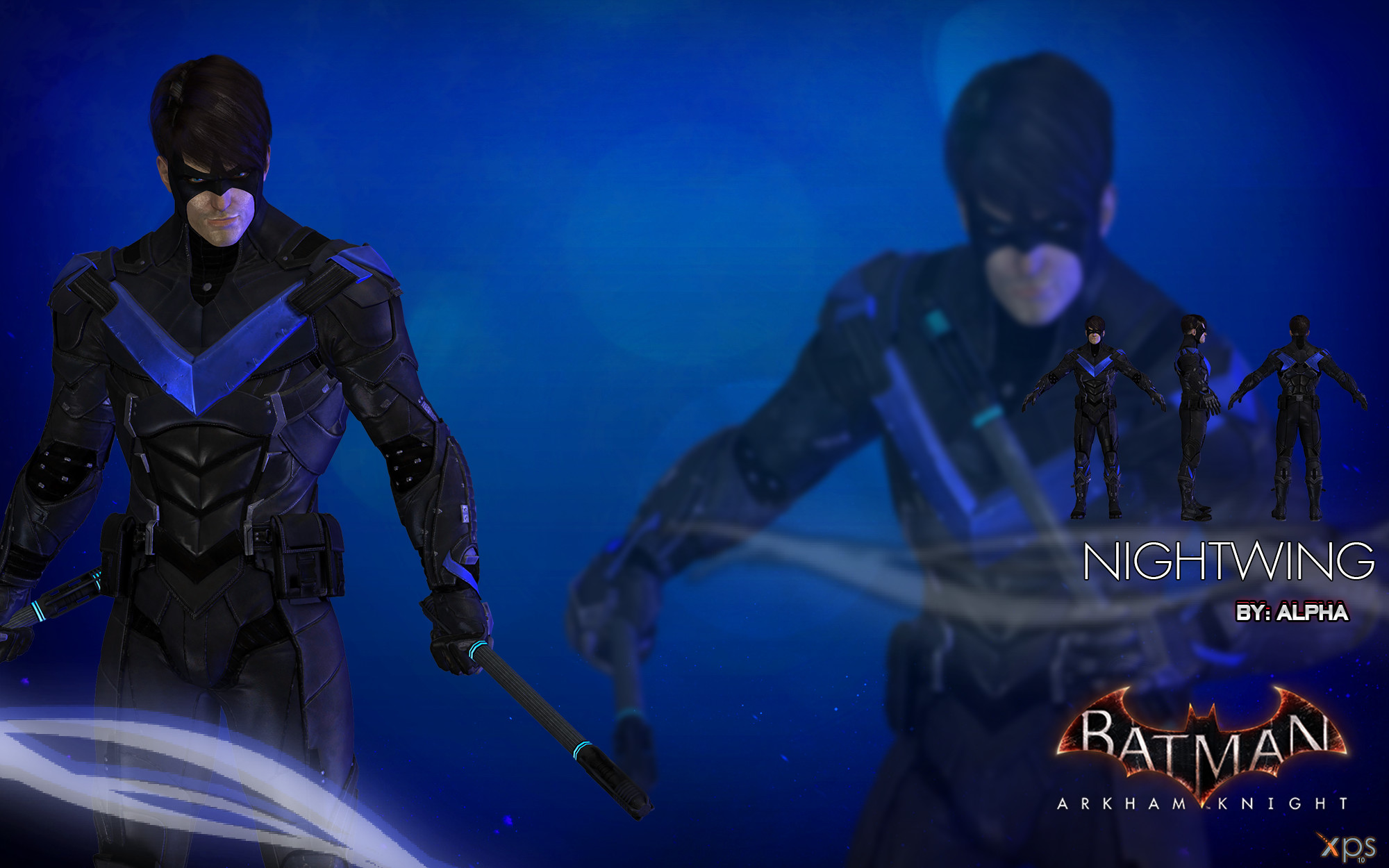 1920x1080 Wallpaper Ultra High Res Nyr Nightwing