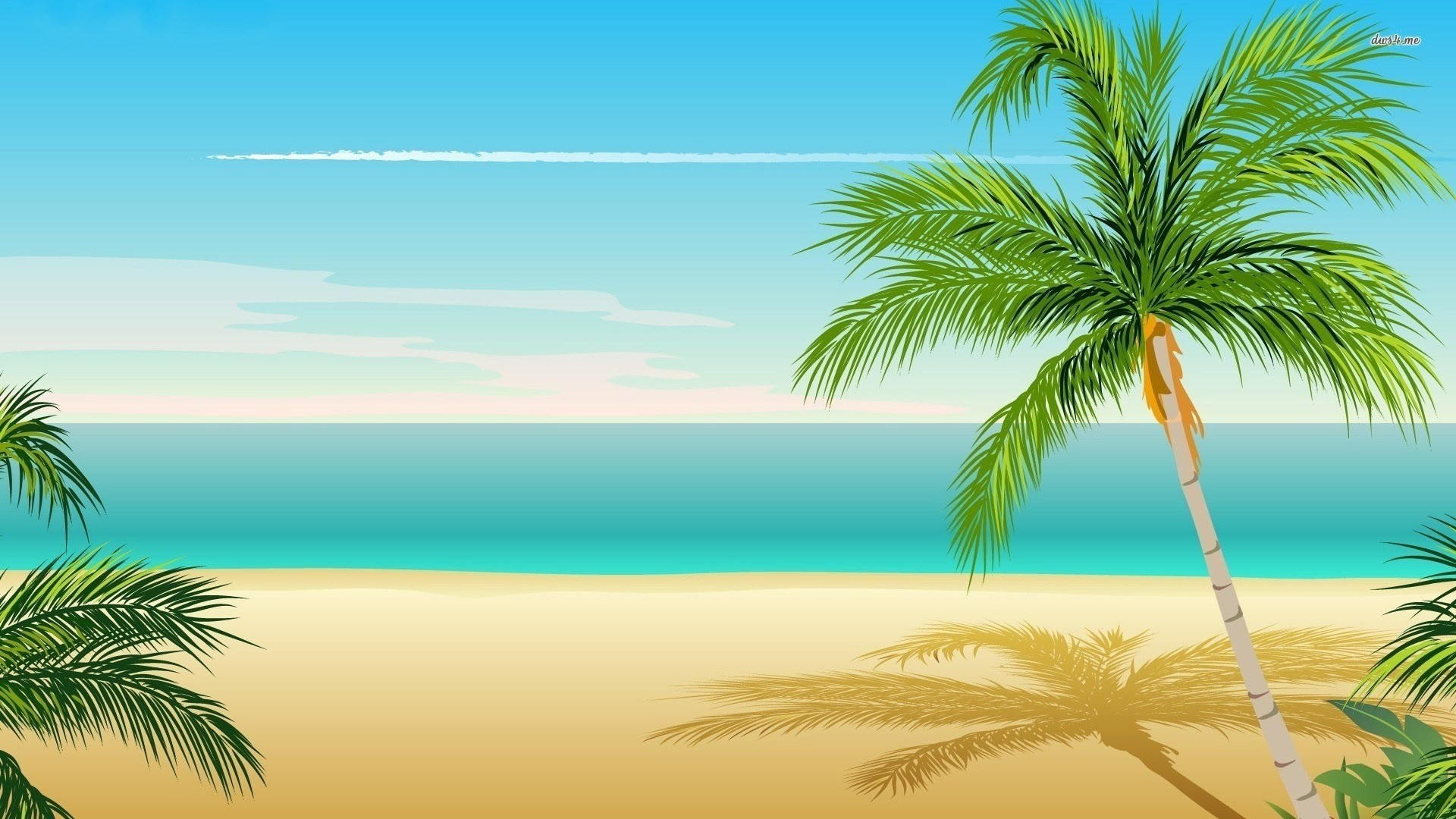 Ipad Wallpaper Beach Scenes: Palm Tree Beach Wallpapers (72+ Background Pictures