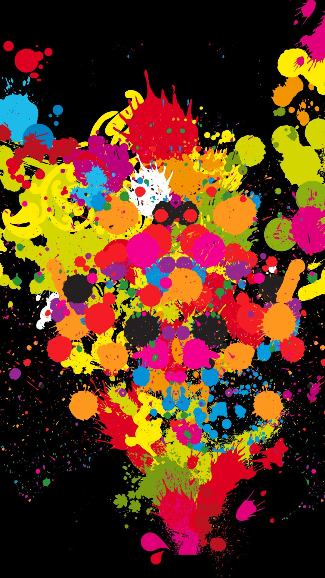 Paint Splat Wallpapers 69 Background Pictures