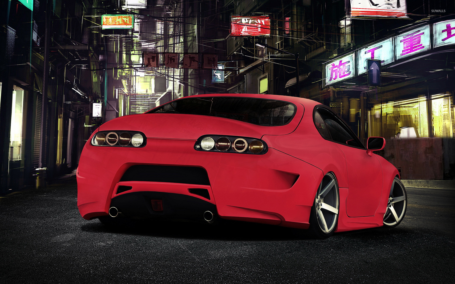 Wallpaper Toyota Supra Sports Car Need For Speed: Toyota Supra Wallpapers 1920X1080 (72+ Background Pictures