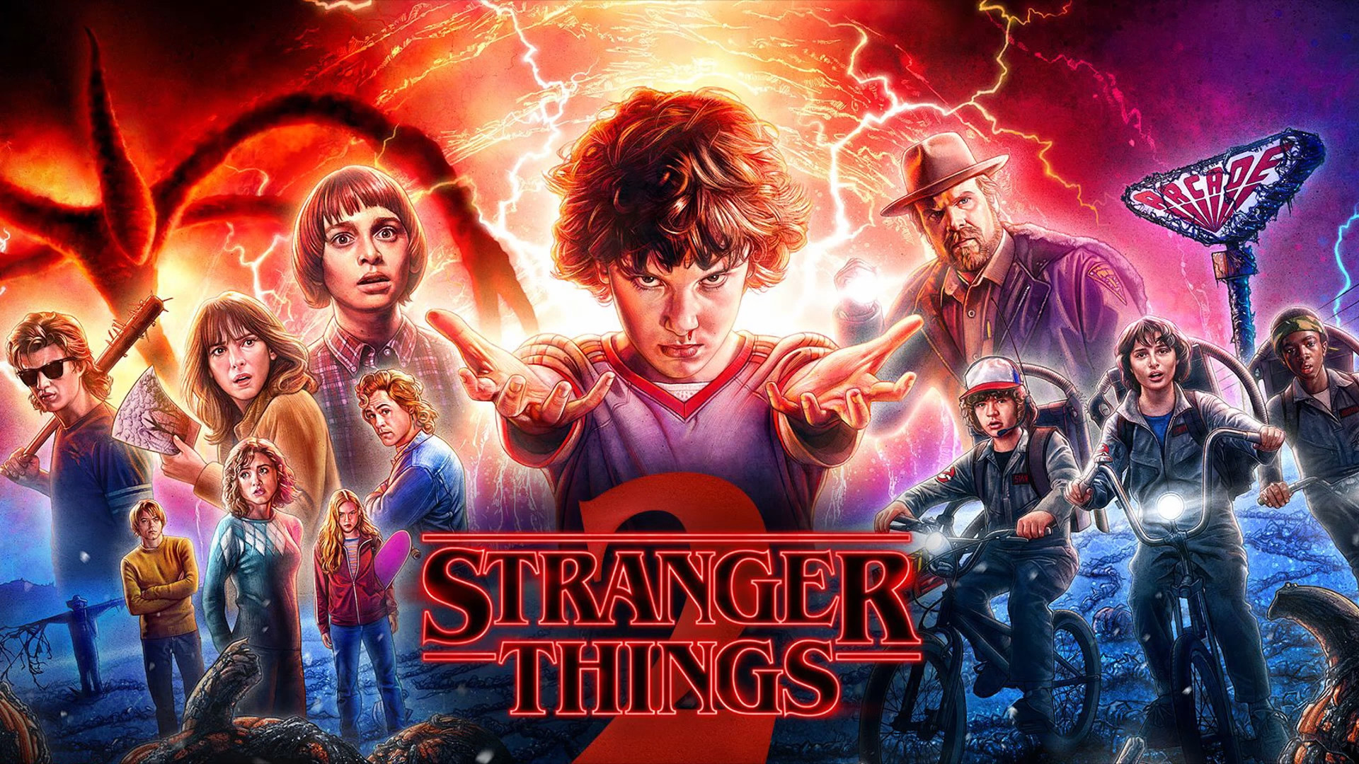 1920x1080 HD Wallpaper | Background Image ID:879599. 1920x1080 TV Show Stranger Things