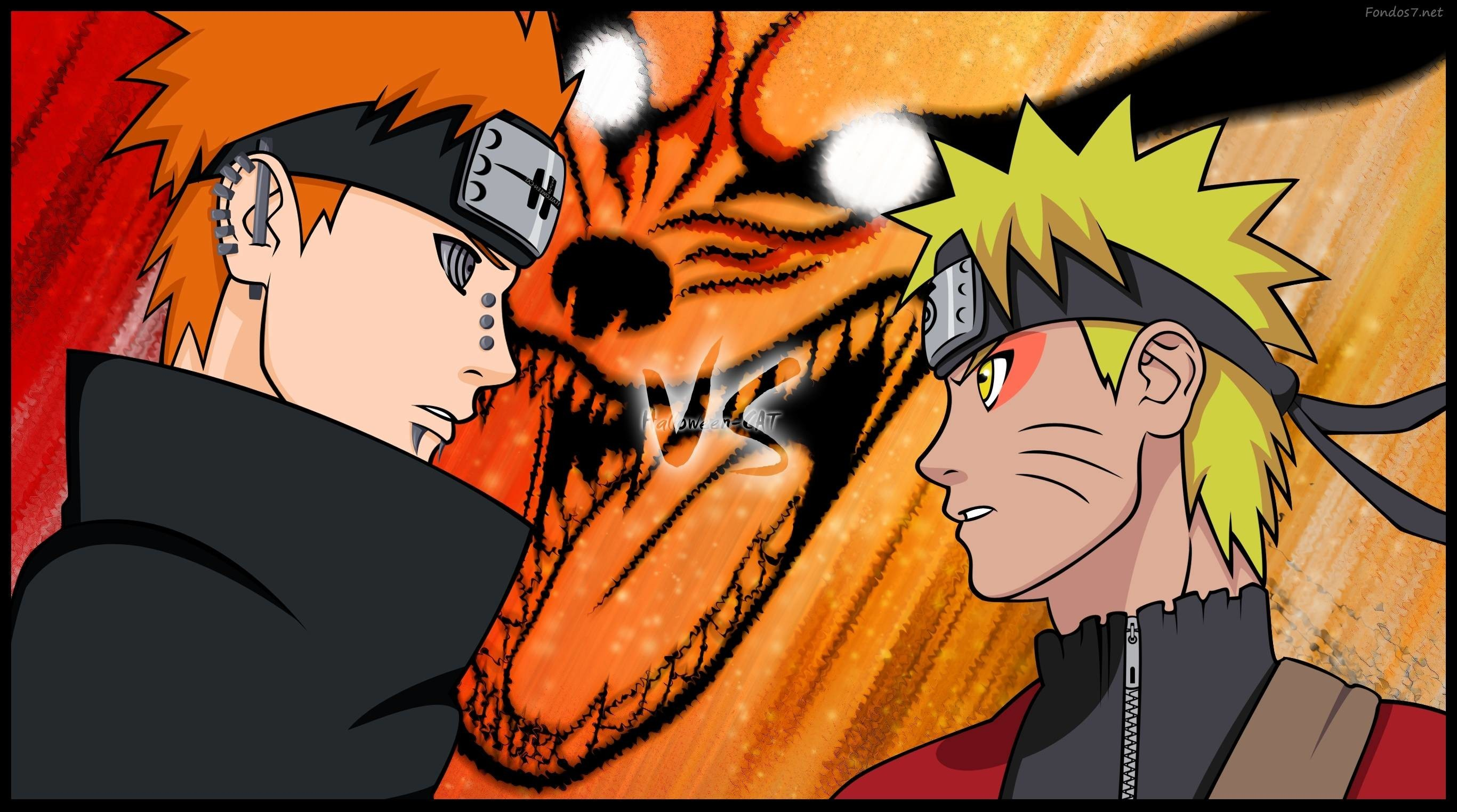 Naruto Vs Pain Wallpapers 69 Background Pictures