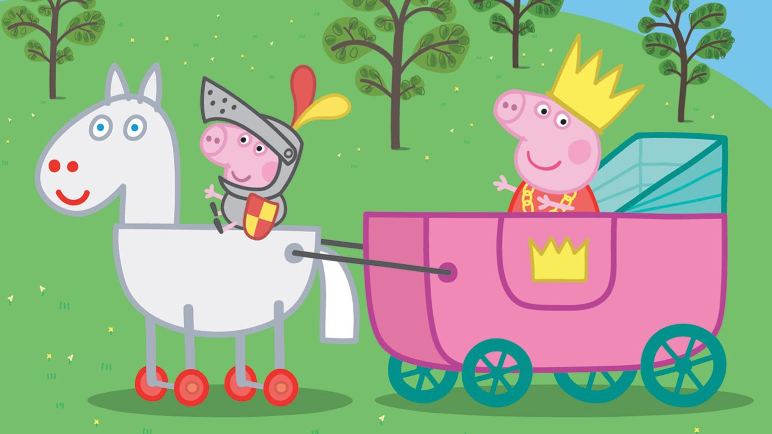 Peppa Pig Wallpapers 64 Background Pictures