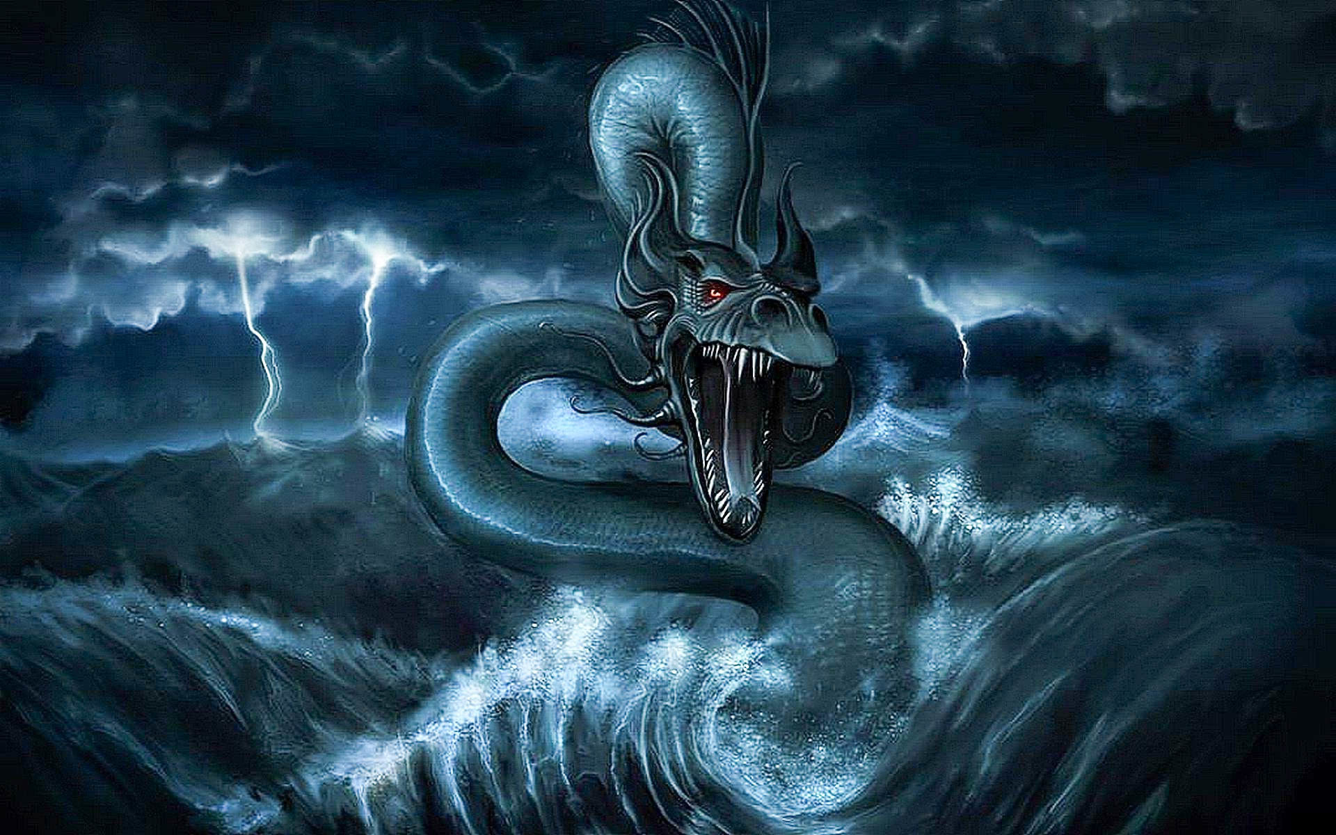 Sea Monster Wallpapers 74 Background Pictures