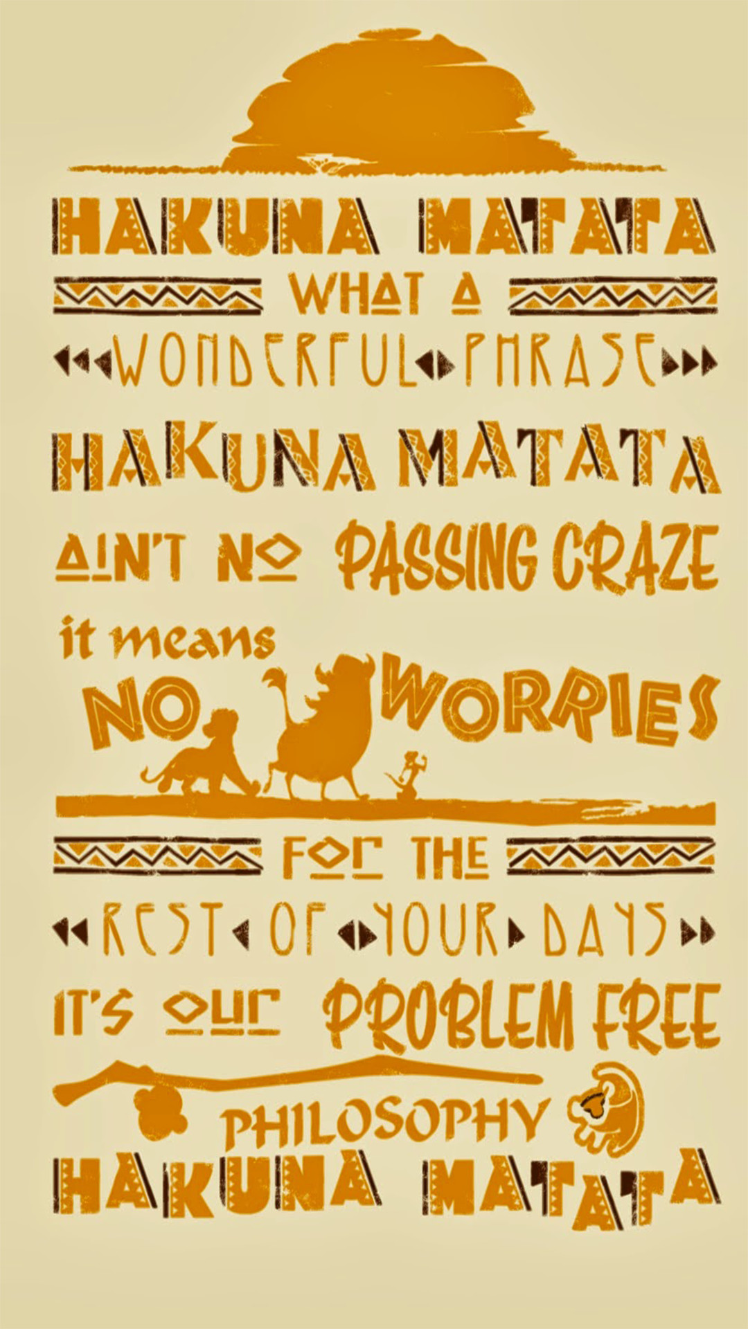 Hakuna Matata Wallpapers 68 Background Pictures