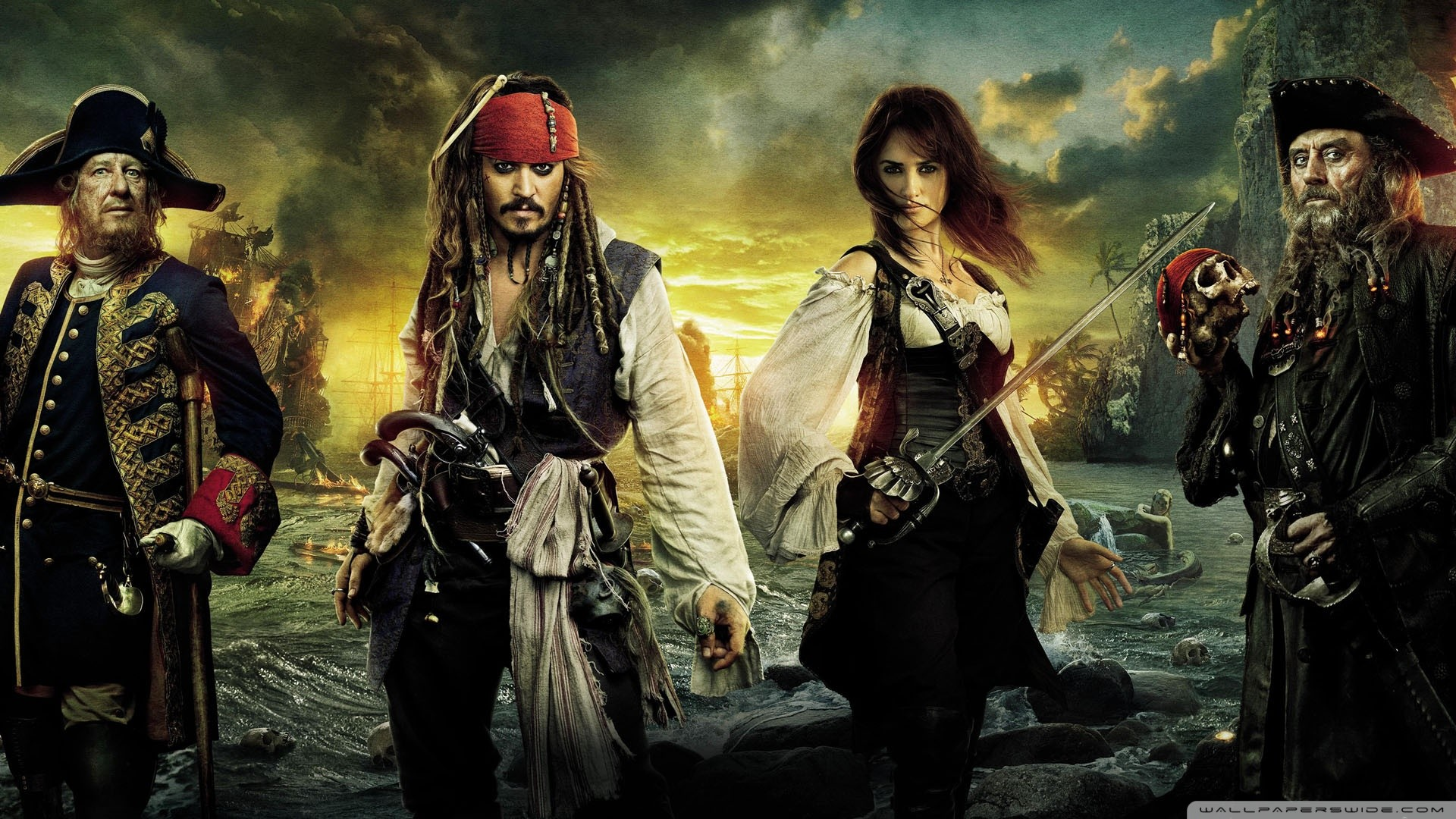 pirates of the caribbean 4 wallpapers (60+ background pictures)
