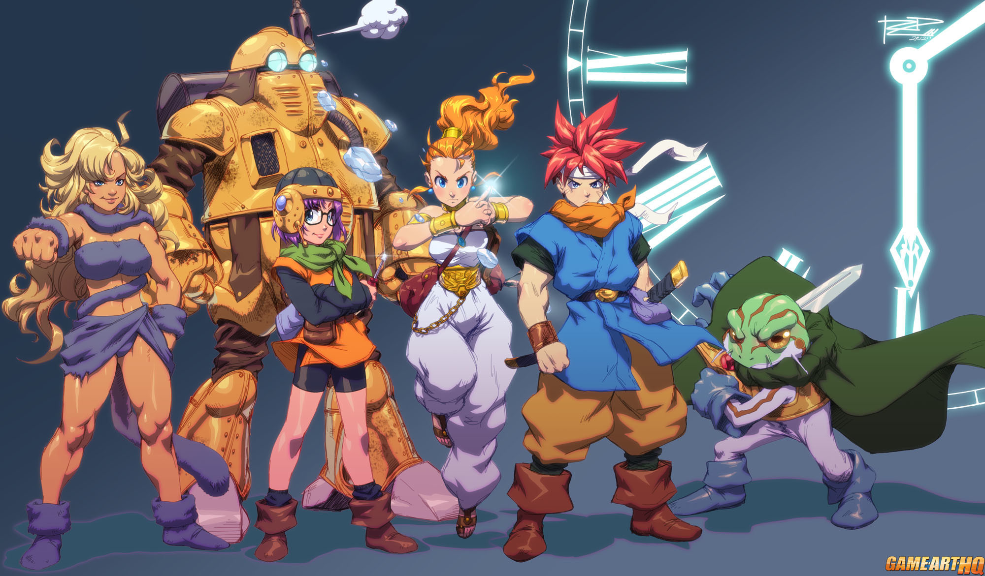 Chrono Trigger Frog HD Wallpapers (87+ background pictures)