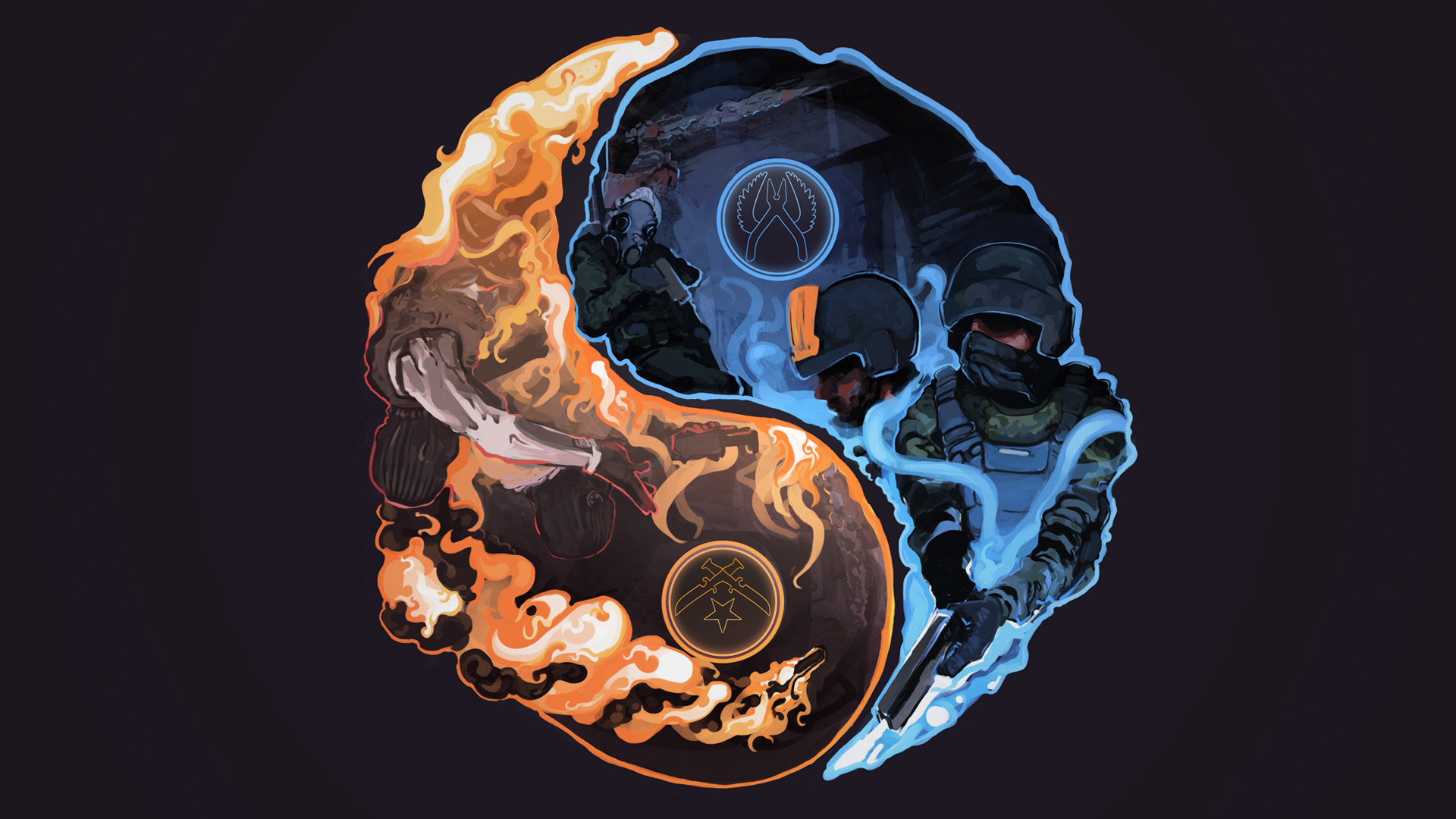 Yin Yang Wallpapers 73 Background Pictures