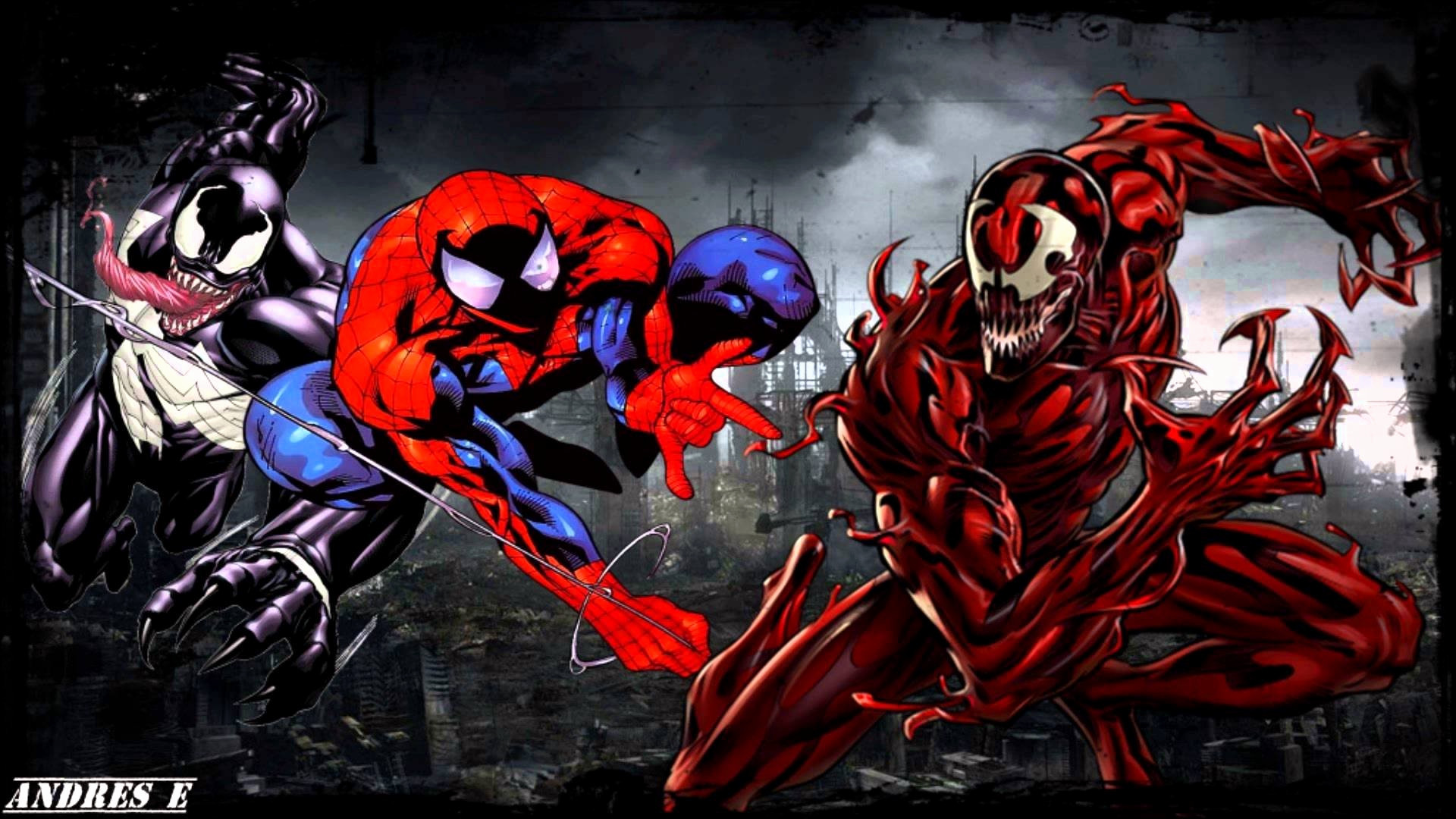Spiderman Venom Wallpapers (70+ background pictures)