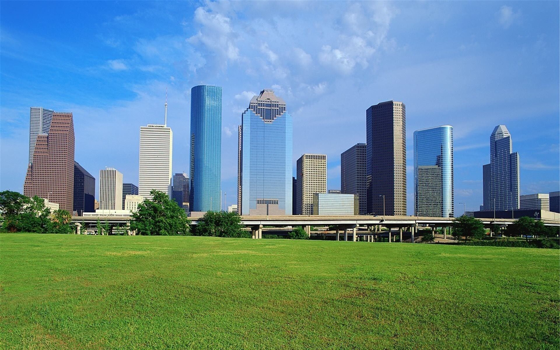 Houston Skyline Wallpapers 74 Background Pictures