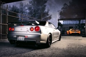 download free r34 gtr wallpapers 1920x1200 for samsung galaxy