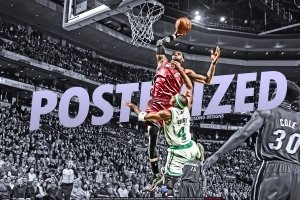 lebron james dunking wallpapers 2560x1600 Desktop