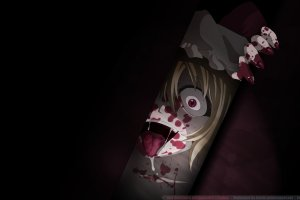 beautiful wallpapers anime scary 2560x1600