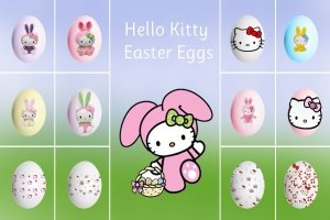 most popular hello kitty easter wallpapers 2048x1365