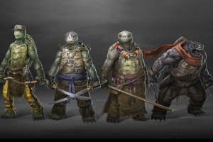best teenage mutant ninja turtles 2017 wallpapers 1920x1080
