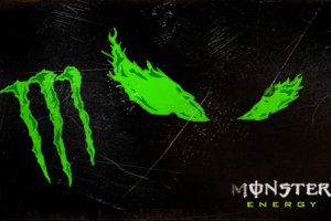 download monster logo wallpapers 2560x1440