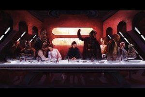 star wars last supper wallpapers 1920x1080 pictures