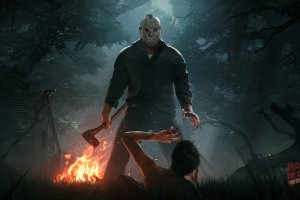 full size friday the 13th the game wallpaper 3500x2025 for xiaomi