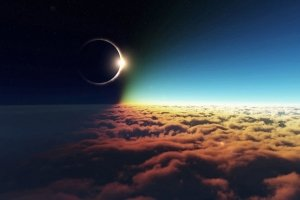 cool solar eclipse wallpapers 1920x1200 tablet