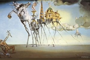 widescreen salvador dali wallpapers 1920x1200 for iphone 5